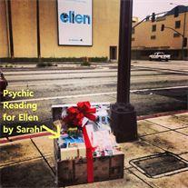 Sarah Yip Ellen Degeneres Psychic Reading