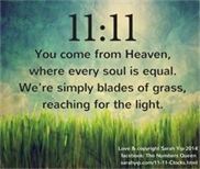 1111YouComeFromHeaven