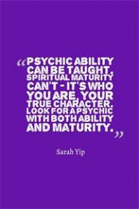 PsychicAbilityVSSpiritualMaturity