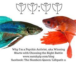Sarah Yip Psychic Activist
