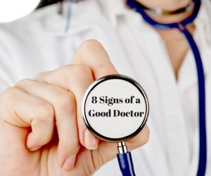 8 Signs of a Good Doctor Title